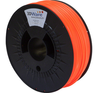 Filament ABS Orange fluoreszierend 3mm 1Kg