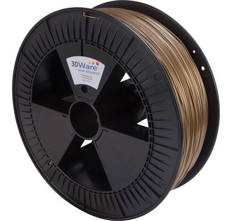Filament PLA Bronze Gold 1.75mm 2.3Kg