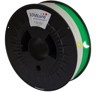 Filament PLA Glow in the dark 1.75mm 1Kg