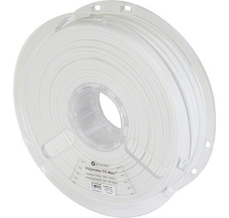 Filament Polymaker Polycarbonate PC MAX True Weiss 3mm 750g