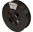 Filament PET-G-Schwarz transparent 1.75mm 500g