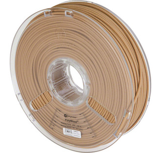 Filament Polymaker PolyWood Wood mimic PLA Braun 3mm 600g