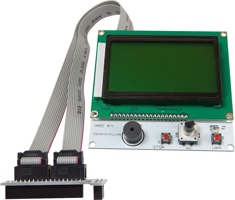 Smart controller LCD 12864 with SD Slot for Ramps