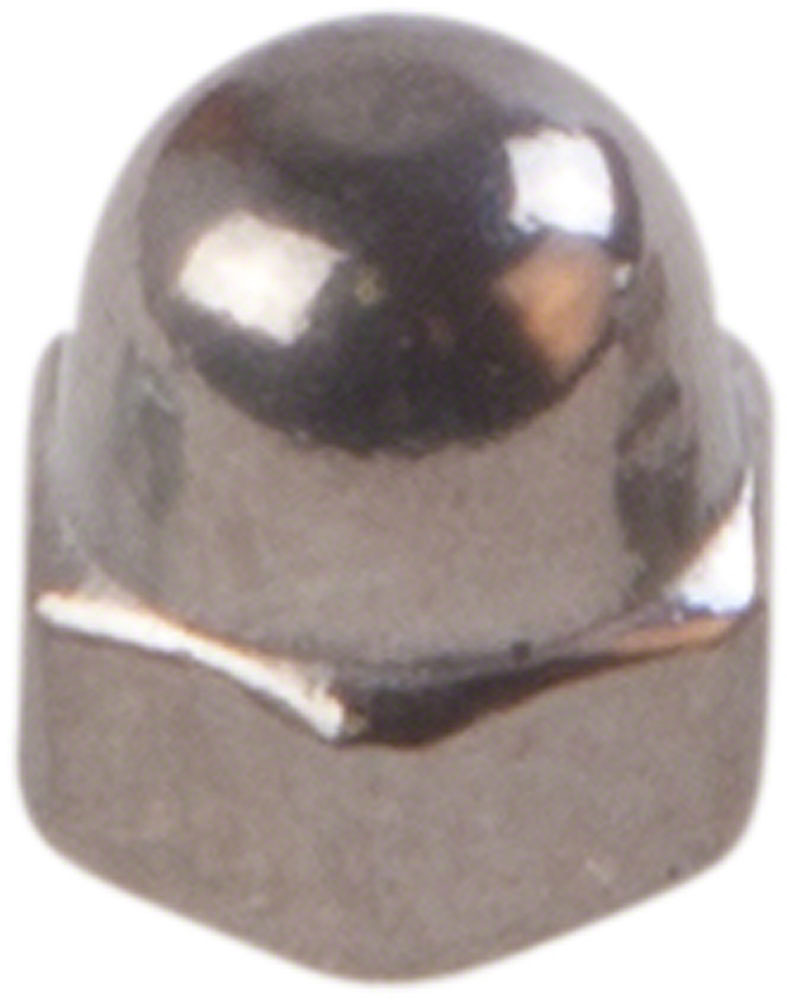 Prevailing torque type hex domed cap nuts M3